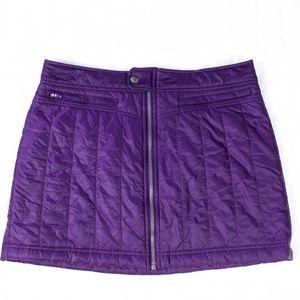 Women's Athleta Snow Stomper Puffer Skirt Size 10